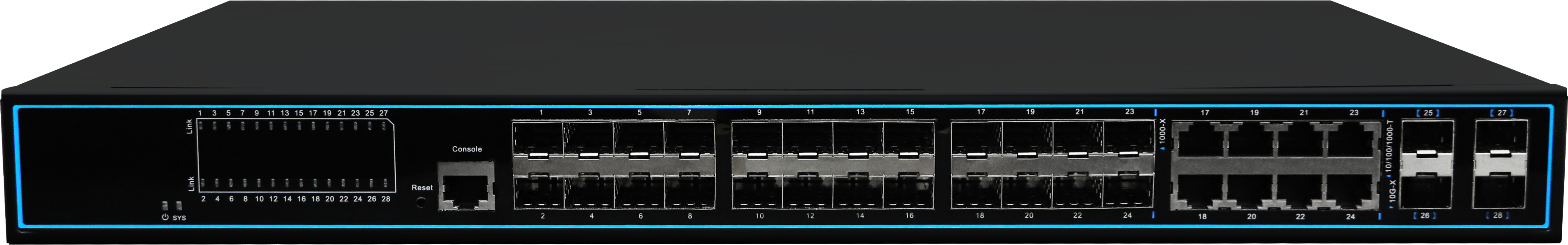 NC5244STGM3-28口網管型光縴交換機
