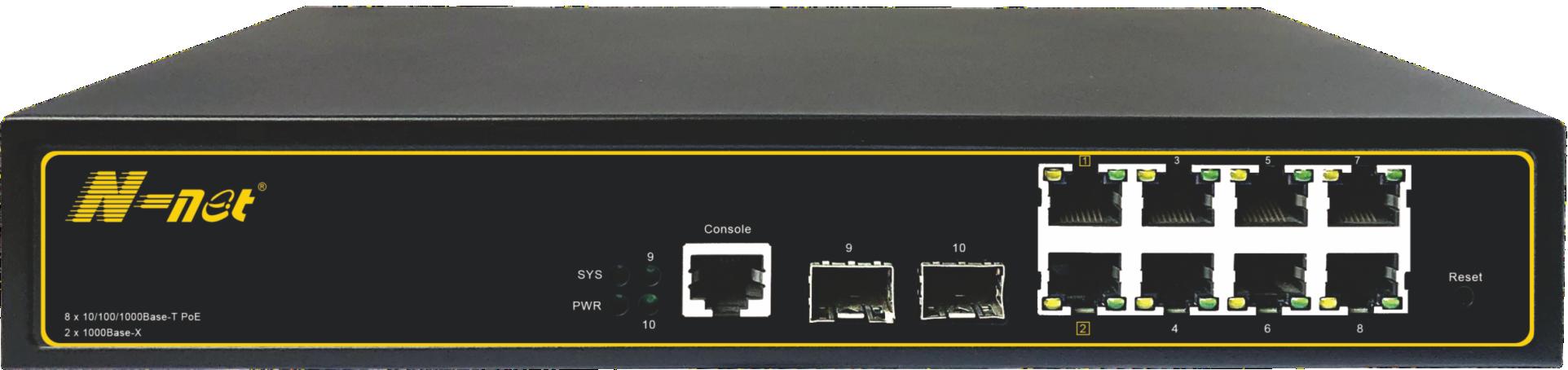 NC3082SGM 10口全千兆網管交換機系列