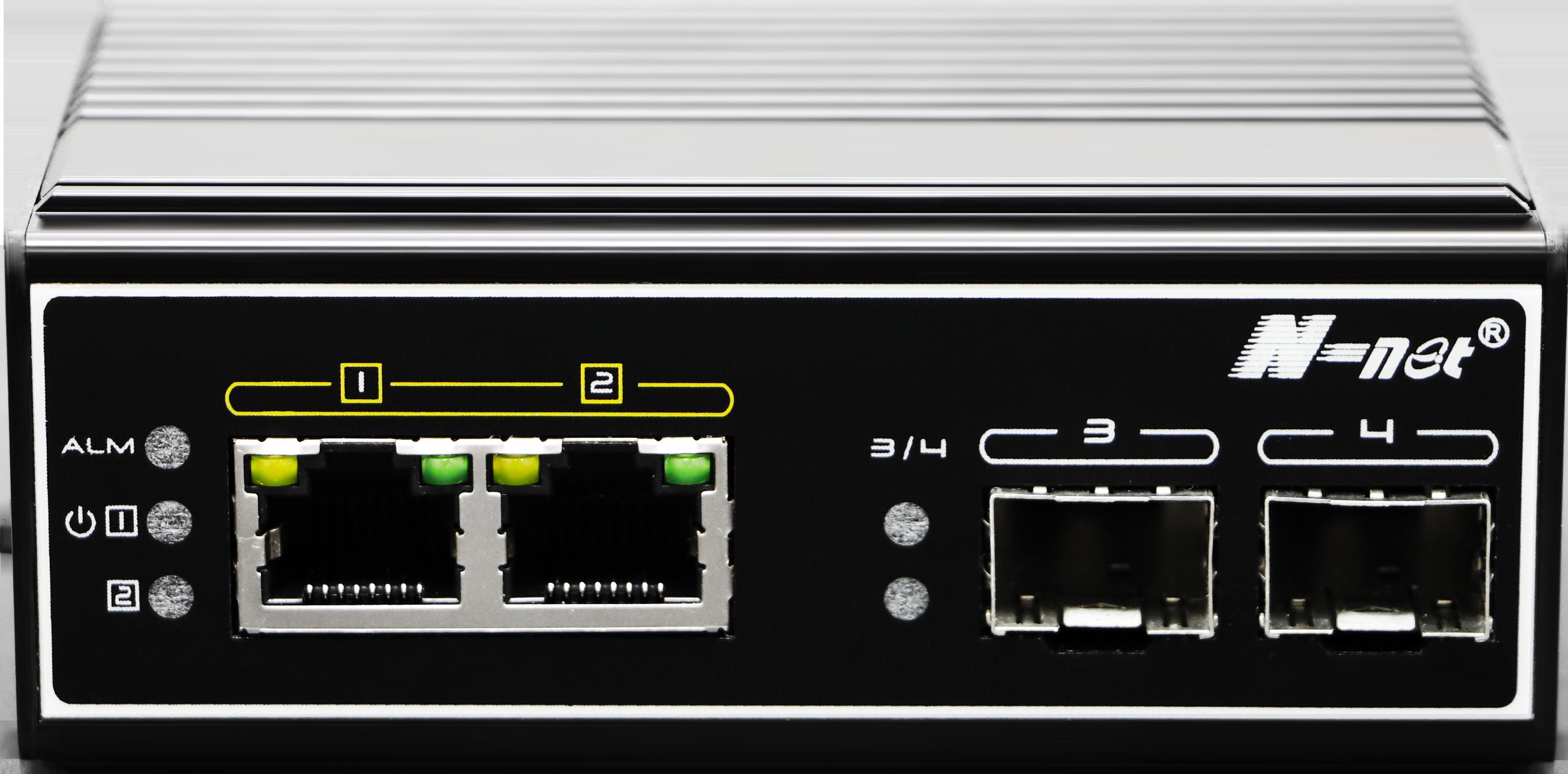 NIE6022PG 4口工業級全千兆PoE交換機