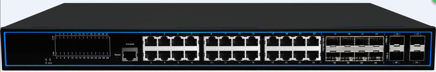NC31612GM 28口全千兆網管型交換機