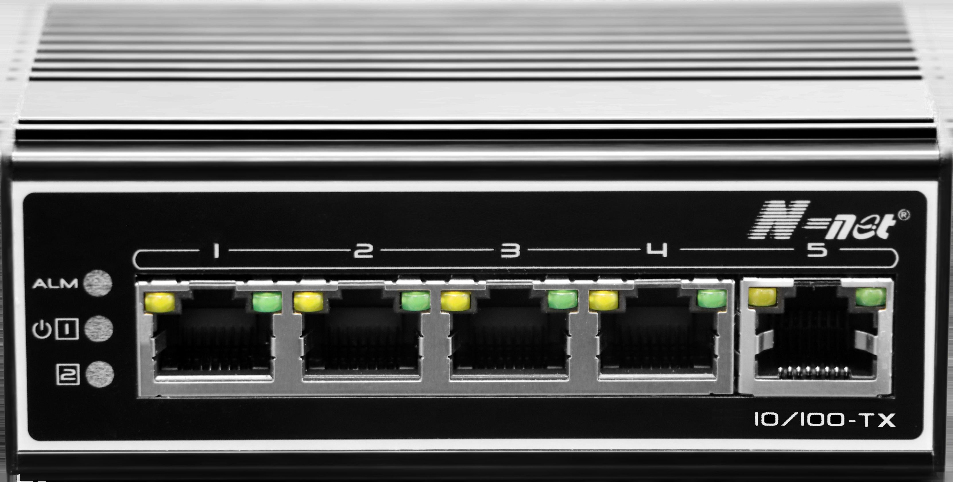 NIE605E 工业级5口百兆交换机