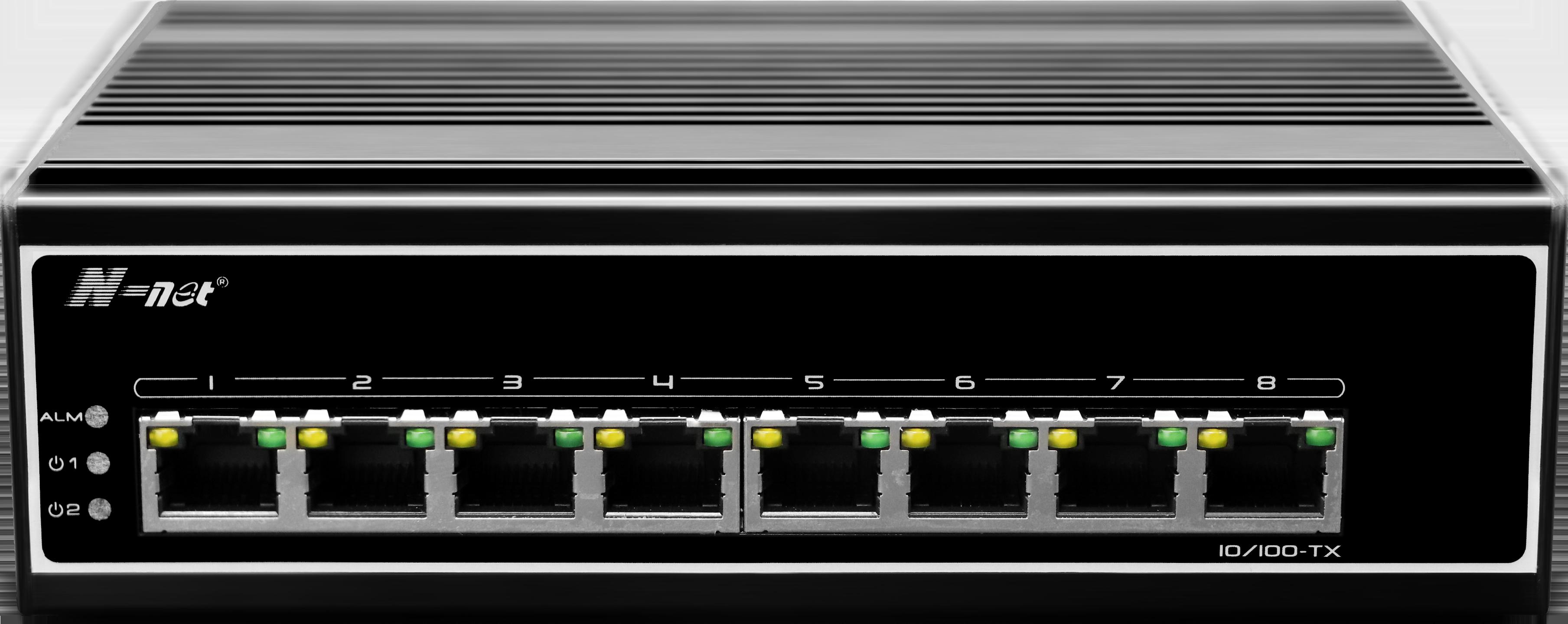 NIE608E 8口百兆工业级交换机