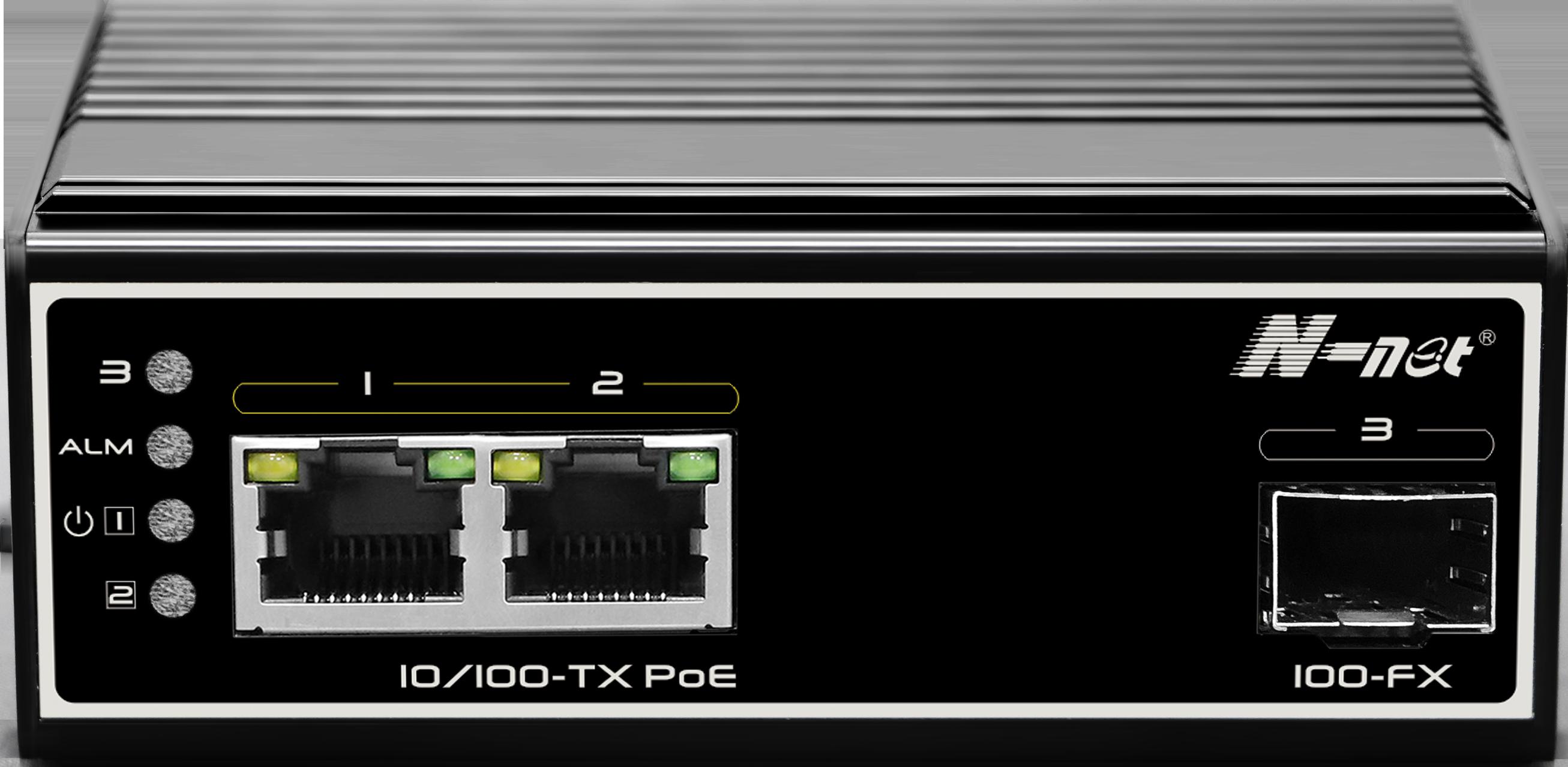 NIE6021PE 3口非网管全百兆PoE交换机