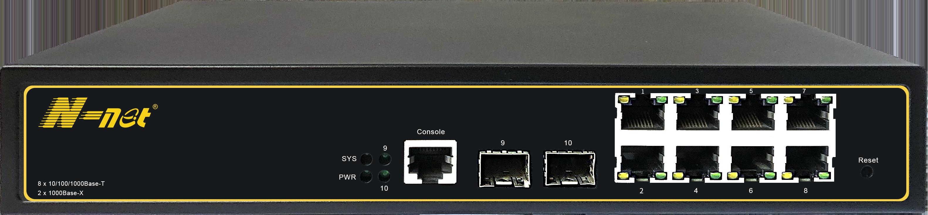 NC3082SGM 10口全千兆網管交換機