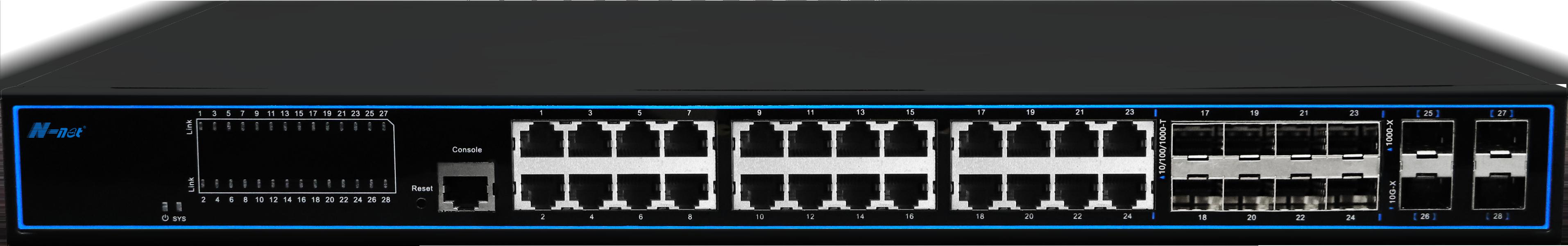 NC5244TGM3 28口全千兆3層網管交換機
