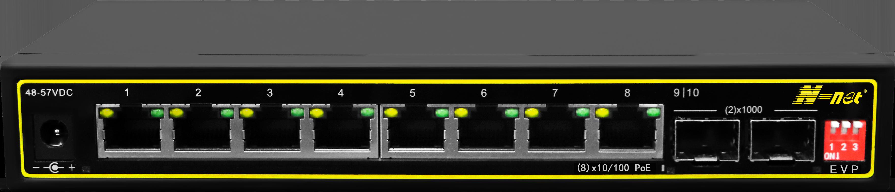 NC2082SGPE 10口PoE非網管交換機