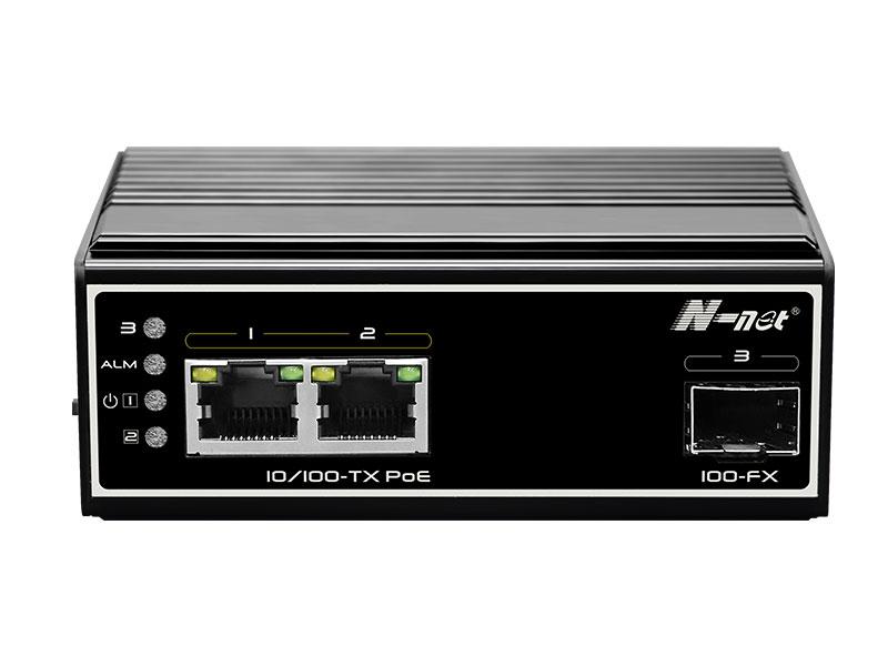 NIE6021PE 3口非網管全百兆PoE交換機