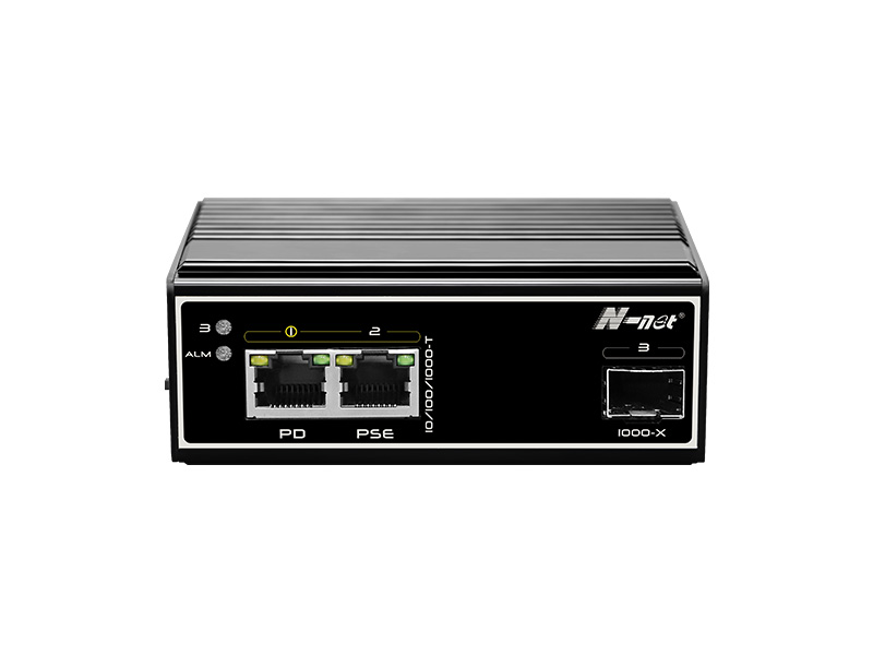 NIE6021PDG 3口全千兆工業級PoE交換機